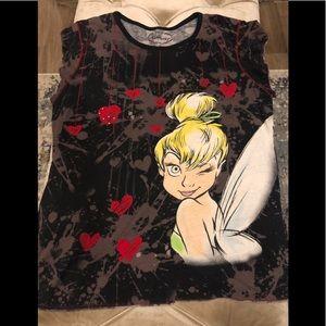 Disney Tinker bell graphic t shirt
